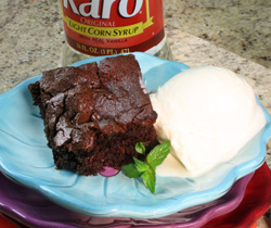 Fudgy Low Fat Brownies
