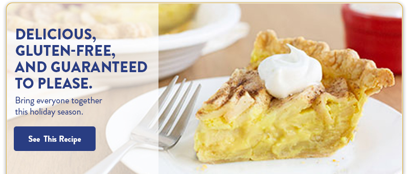 Gluten-Free Apple Custard Pie