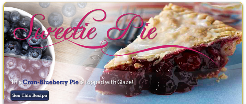 Cran Blueberry Pie